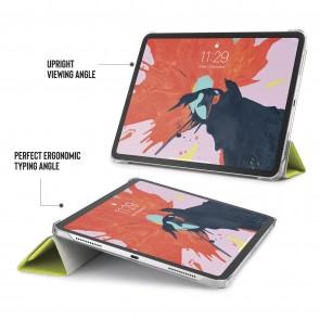 iPad Pro 11 Case Origami Luxe - Pistachio & Clear