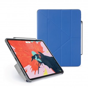 Pipetto 12.9-inch iPad Pro Origami Pencil Royal Blue - Hero