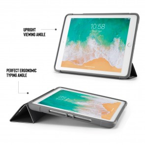 iPad 9.7 Case Origami Shield 5-in-1 Ruggedised Case - Black