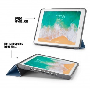 iPad 9.7 Case Origami Shield 5-in-1 Ruggedised Case - Navy