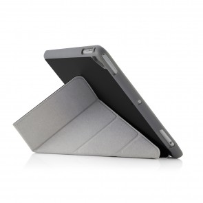 iPad 9.7 Origami Pencil Case 5-in-1 Ruggedised Case - Black