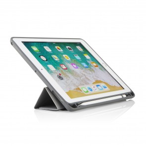 iPad 9.7 Origami Pencil Case 5-in-1 Ruggedised Case - Grey
