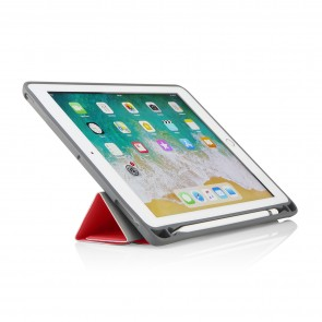 iPad 9.7 Origami Pencil Case 5th & 6th Generation - Red
