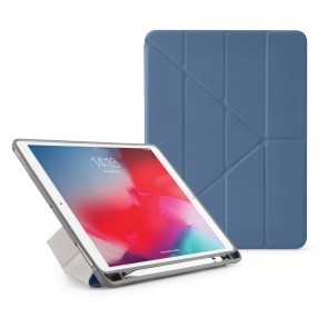 Pipetto iPad Air 10.5 / Pro 10.5 Origami Pencil Case Navy - Front