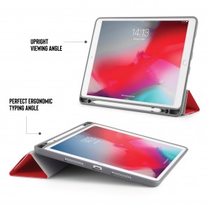 iPad Air 10.5 / Pro 10.5 Origami Pencil Case - Red