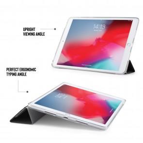 iPad Air 10.5 / Pro 10.5 TPU Luxe Origami - Black & Clear
