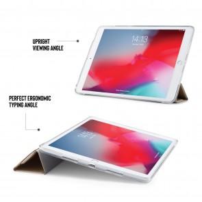 iPad Air 10.5 / Pro 10.5 TPU Metallic Origami - Gold & Clear