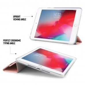 iPad mini 5 / iPad mini 4 Origami TPU Luxe Case - Dusty Pink & Clear