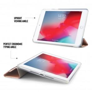 iPad mini 5 / iPad Mini 4 Origami Metallic TPU Case - Rose Gold & Clear