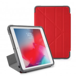 Pipetto iPad mini 5 / iPad mini 4 Origami Shield Case Red - Front