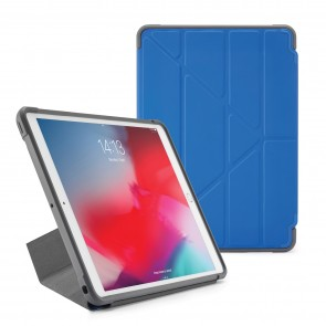 Pipetto iPad Air 10.5-inch and iPad Pro 10.5 Origami Shield Case Royal Blue - Front