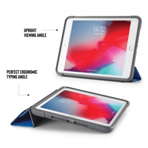 iPad mini 5 / iPad mini 4 Origami Shield Case - Royal Blue