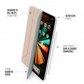 iPad Pro 12.9 (3rd, 4th & 5th Gen) Origami No4 Folio Case - Dusty Pink