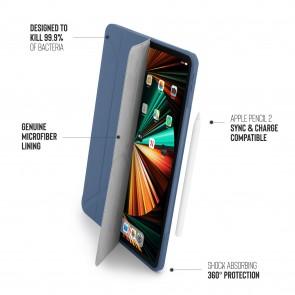 iPad Pro 12.9 (3rd, 4th & 5th) Origami No1 Original TPU Case - Navy