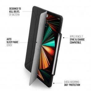 iPad Pro 12.9 (3rd, 4th & 5th Gen) Origami No3 Pencil Case - Black
