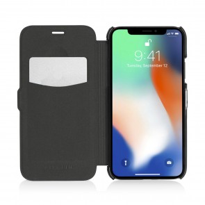iPhone X/XS Slim Wallet - Jet Black