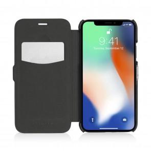 iPhone X/XS Slim Wallet - Jet Black