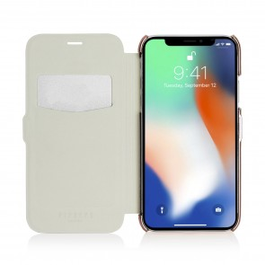 iPhone X/XS Slim Wallet - Light Grey