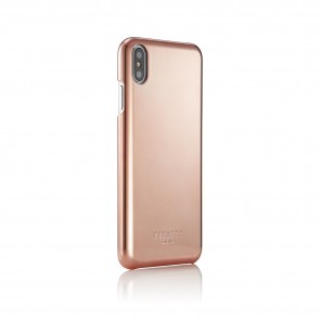 iPhone xs max shell rose gold - back angle