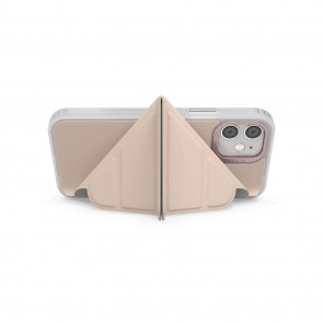iPhone 12 Mini (5.4-inch) 2020 - Origami Folio Case - Dusty Pink