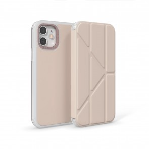iPhone 12 Pro Max (6.7-inch) 2020 - Origami Folio Case - Dusty Pink