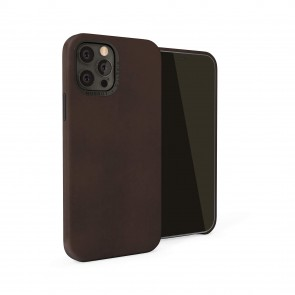 iPhone 12 (6.1)-Magnetic-Leather-brown-overview
