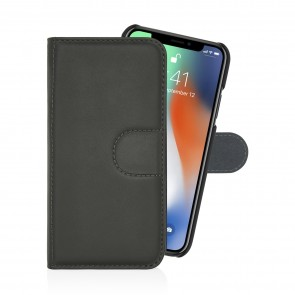 Pipetto iPhone7 case wallet large Front black