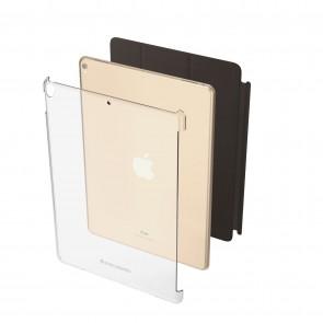 Smart Cover Compatible iPad Pro 12.9 Protective Clear Shell Cover (Pro 12.9 1st & 2nd Gen Compatible)