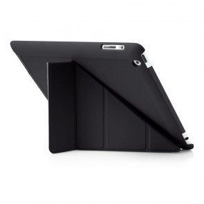 Pipetto iPad 2,3,4 Origami Case Black - Back exterior
