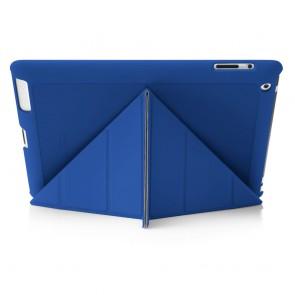 iPad 2, 3, 4 Origami Case - Royal Blue