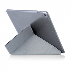iPad 9.7 (2017 / 2018) Case Origami Luxe - Black & Clear (Air 1 Compatible)