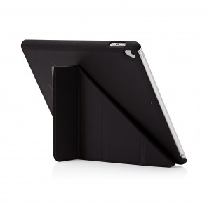 Pipetto 9.7-inch 2017 iPad Origami Original Black - back exterior