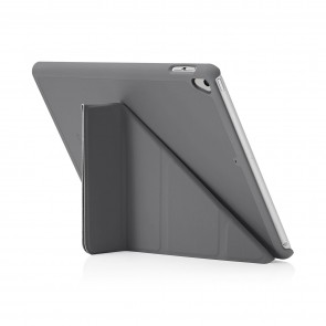 Pipetto 9.7-inch 2017 iPad Origami Original Dark Grey - back exterior