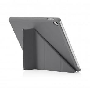 Pipetto 9.7-inch 2017 iPad Origami Original Dark Grey - back exterior
