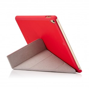 "Pipetto iPad 9.7"" 2018/2017 Origami Case 6th/5th Generation Cover with Auto Wake/Sleep - Red"