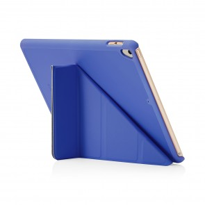 Pipetto 9.7-inch 2017 iPad Origami Original Royal Blue - back exterior